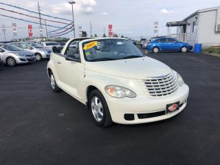 Used 2007 Chrysler PT Cruiser CONVERTIBLE for sale in London, ON