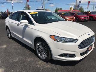 Used 2014 Ford Fusion SE|AWD|NAV|BLUETOOTH|SUNROOF|HEATED SEATS for sale in London, ON