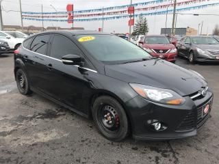 Used 2014 Ford Focus TITANIUM|BACK UP CAM|HEATED SEATS for sale in London, ON