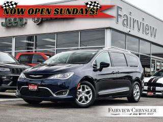 Used 2018 Chrysler Pacifica Touring-L Plus   DUAL DVD   PANO ROOF   LEATHER for sale in Burlington, ON