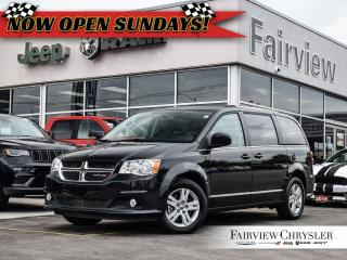Used 2018 Dodge Grand Caravan Crew   LEATHER   PWR DOORS   NAV for sale in Burlington, ON