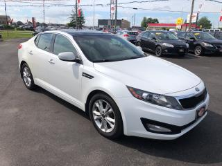 Used 2013 Kia Optima EX BACK UP CAM PANO ROOF HEATED SEATS FULLY LOADED for sale in London, ON
