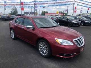 Used 2013 Chrysler 200 Limited for sale in London, ON