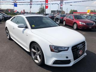 Used 2013 Audi A5 Premium|A5|S LINE|SUN ROOF|HEATED SEATS for sale in London, ON