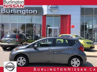 Used 2017 Nissan Versa Note SV for sale in Burlington, ON