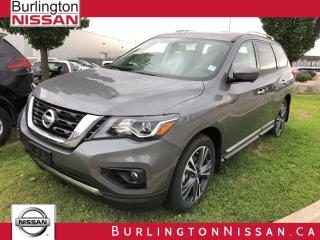 New 2019 Nissan Pathfinder Platinum for sale in Burlington, ON
