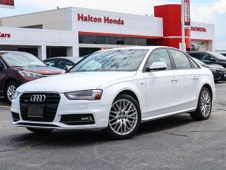 Used 2016 Audi A4 NO ACCIDENTS for sale in Burlington, ON
