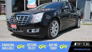 Used 2013 Cadillac CTS Performance Collection ** Leather, Sunroof, Bose S for sale in Bowmanville, ON