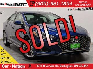 Used 2019 Hyundai Sonata Essential w/Sport Pkg| SUNROOF| PUSH START| for sale in Burlington, ON