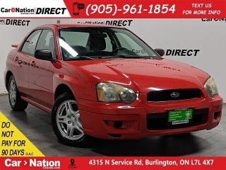 Used 2004 Subaru Impreza 2.5 RS| AS-TRADED| ONE PRICE INTEGRITY| for sale in Burlington, ON