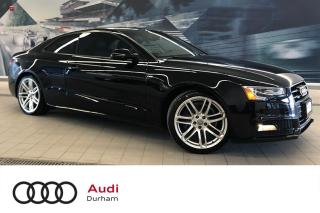 Used 2016 Audi A5 2.0T Technik plus + S-Line | Rear Cam | Blind Spot for sale in Whitby, ON