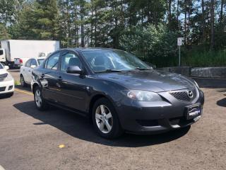 Used 2006 Mazda MAZDA3 Auto|No Accidents| LOW KM! | CERTIFIED| BY APPOINTMENT for sale in Newmarket, ON