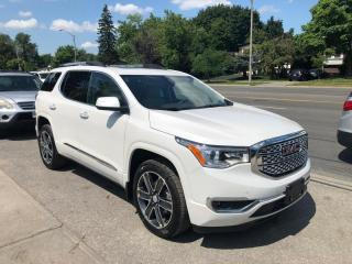 Used 2017 GMC Acadia AWD 4DR DENALI for sale in Toronto, ON