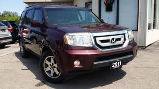 Used 2011 Honda Pilot Touring 4WD 5-Spd AT with DVD 2011 HONDA PILOT TOURING 4WD - LEATHER! NAV! BACK-UP CAM! DVD! for sale in Kitchener, ON