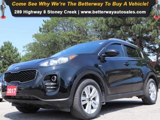 Used 2017 Kia Sportage LX| AWD| Heat Seat| B-Tooth| Keyless Ent for sale in Stoney Creek, ON