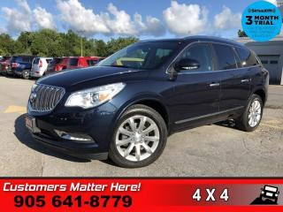 Used 2017 Buick Enclave Premium  NAV ROOF CS BS MEM P/GATE! for sale in St. Catharines, ON