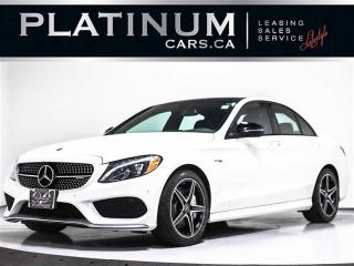 Used 2017 Mercedes-Benz C-Class AMG C43 4MATIC, 362HP, NAVI, PREMIUM PKG, DYNAMIC for sale in Toronto, ON
