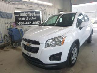 Used 2015 Chevrolet Trax LS for sale in St-Raymond, QC