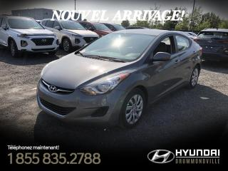 Used 2013 Hyundai Elantra GL  + A/C +  CRUISE + BLUETOOTH + GROUPE for sale in Drummondville, QC