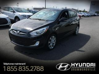 Used 2013 Hyundai Accent GLS + TOIT + MAGS + FOGS + A/C + BLUETOO for sale in Drummondville, QC