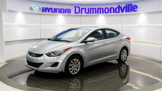 Used 2012 Hyundai Elantra GL + A/C + CRUISE + BLUETOOTH + WOW !! for sale in Drummondville, QC