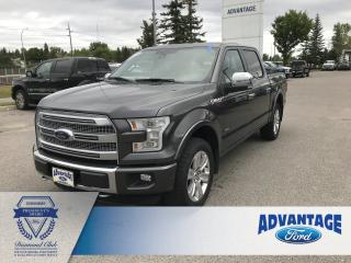 Used 2016 Ford F-150 Platinum Leather Heated / Cooled Seats for sale in Calgary, AB