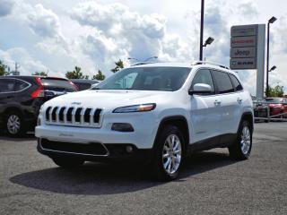 Used 2016 Jeep Cherokee LIMITED 4X4 *V6*CUIR*GPS* for sale in Brossard, QC