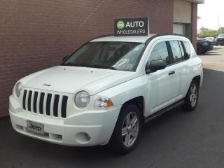 Used 2007 Jeep Compass Sport/North THIS WHOLESALE SUV WILL BE SOLD AS-TRADED! INQUIRE FOR MORE! for sale in Charlottetown, PE
