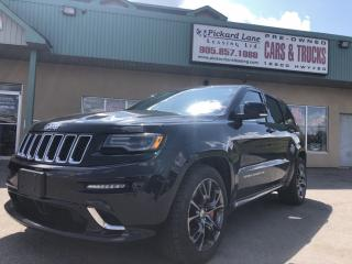 Used 2016 Jeep Grand Cherokee SRT!! FULLY LOADED!! 475 HP!! for sale in Bolton, ON