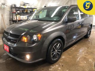 Used 2018 Dodge Grand Caravan GT * Leather seats with perforated inserts * Power lift gate/sliding doors/lift-gate/mid row windows/rear vents * Remote start * 17 inch polished alum for sale in Cambridge, ON