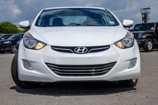 Used 2013 Hyundai Elantra Limited 4x4|Sunroof|Bluetooth|R-Start|Leather|Heated Front Seats|17