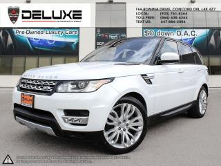 Used 2016 Land Rover Range Rover Sport DIESEL Td6 HSE 2016 LAND ROVER RANGE ROVER SPORT- MERIDIAN SOUND SYSTEM, HEADS-UP DISPLAY  3.0L V6 Turbocharged Die for sale in Concord, ON