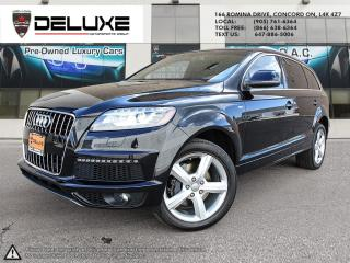 Used 2014 Audi Q7 3.0T Sport 2014 AUDI Q7 SPORT S-LINE NAVIGATION 7 PASSENGER 3.0L DOHC TFSI Direct-Injection V6 -inc: Supercharg for sale in Concord, ON