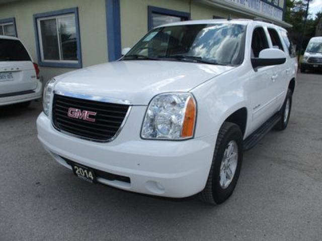 2014 GMC Yukon PEOPLE MOVING SLE MODEL 9 PASSENGER 5.3L - VORTEC.. 4X4 SYSTEM.. BENCH & THIRD ROW.. CD/AUX INPUT.. POWER PEDALS..
