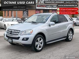 Used 2009 Mercedes-Benz ML-Class ML 320 Accident Free Diesel for sale in Scarborough, ON