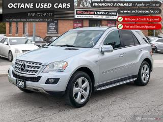 Used 2009 Mercedes-Benz ML-Class Accident Free! Fully Loaded! Diesel for sale in Scarborough, ON