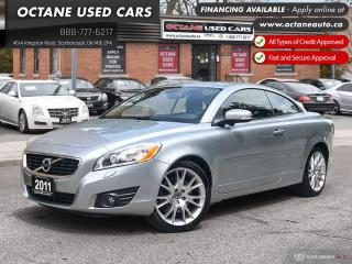 Used 2011 Volvo C70 T5 Accident Free! Ontario Vehicle! for sale in Scarborough, ON