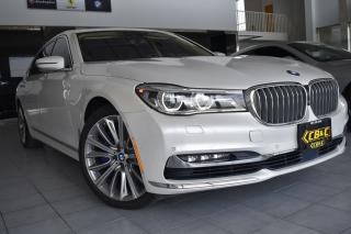 Used 2017 BMW 7 Series 750Li xDrive - DVD - EXEC - DRVERS ASSIST - MINT for sale in Oakville, ON
