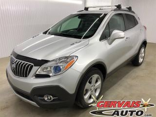 Used 2015 Buick Encore Convenience AWD Cuir/Tissus MAGS Bluetooth *Bas Kilométrage* for sale in Trois-Rivières, QC