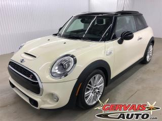 Used 2015 MINI Cooper S GPS Cuir Toit Ouvrant MAGS Bluetooth for sale in Trois-Rivières, QC