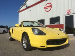 Used 2000 Toyota MR2 SPIDER for sale in Tillsonburg, ON