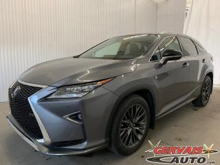 Used 2016 Lexus RX 350 F Sport AWD GPS Cuir Toit Panoramique MAGS for sale in Trois-Rivières, QC