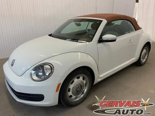 Used 2016 Volkswagen Beetle Classic Mags GPS Caméra Bluetooth for sale in Trois-Rivières, QC