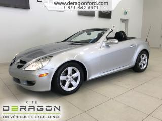 Used 2007 Mercedes-Benz SLK 3.0L CONVERTIBLE HARD TOP ROUES 16