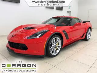 Used 2018 Chevrolet Corvette Z06 2LZ 6.2L SUPERCHARGED 650HP NAV CAMERA BOSE Z06 2LZ 6.2L SUPERCHARGED 650HP NAV CAMERA BOSE for sale in Cowansville, QC