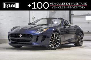 Used 2017 Jaguar F-Type 2017 Jaguar F-Type - 2dr Conv Auto RWD for sale in Montréal, QC