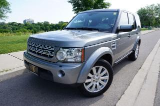 Used 2011 Land Rover LR4 7 PASSENGER / NO ACCIDENTS / STUNNING / V8 HSE for sale in Etobicoke, ON
