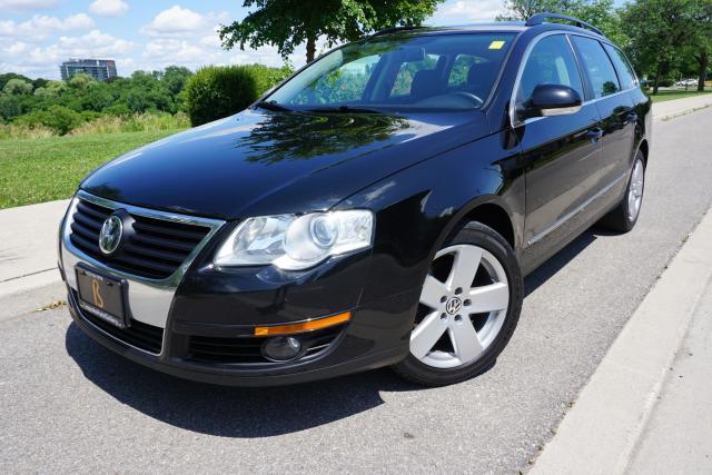2010 Volkswagen Passat WAGON / COMFORTLINE / BLACK BEAUTY
