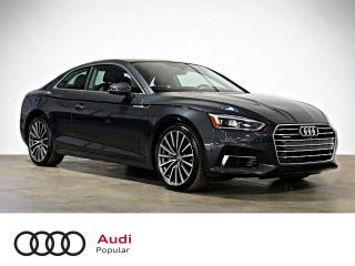 Used 2018 Audi A5 Progressiv 2.0 TFSI driver assistance pa for sale in Montréal, QC