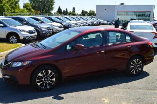 Used 2014 Honda Civic EX for sale in Longueuil, QC